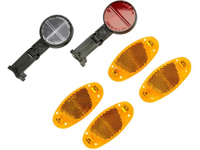 Cube RFR Reflector Set for Brake/Fork Mounting